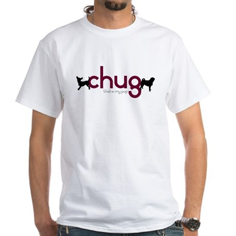 Chihuahua/Pug White T-Shirt