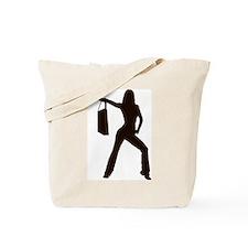 shop girl Tote Bag