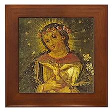 La Nostra Signora De Concepcion Framed Tile