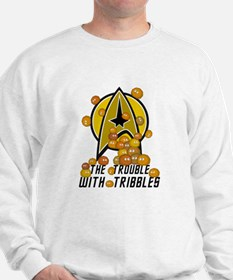 Trouble With Tribbles Sweatshirt