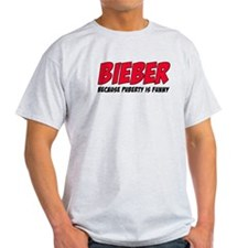 Bieber Because Puberty is Funny T-Shirt