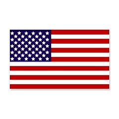 American Flag 22x14 Wall Peel