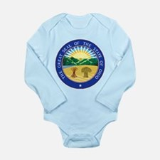 Coat of Arms Long Sleeve Infant Bodysuit