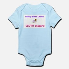 Choosy Butts Infant Creeper