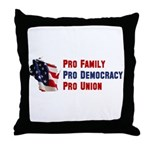 Pro Family Throw Pillow