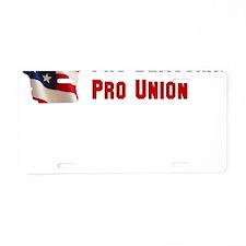 Pro Family Aluminum License Plate