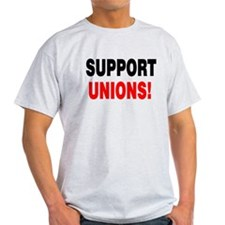 SUPPORT UNIONS: T-Shirt