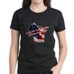 WI Familes & Workers Rights D Women's Dark T-Shirt