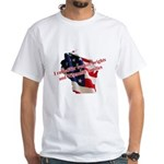 WI Familes & Workers Rights D White T-Shirt