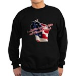 WI Familes & Workers Rights D Sweatshirt (dark)