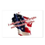 WI Familes & Workers Rights D Postcards (Package o