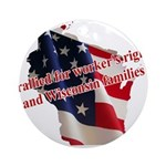 WI Familes & Workers Rights D Ornament (Round)