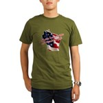 WI Familes & Workers Rights D Organic Men's T-Shir