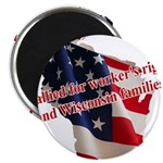 WI Familes & Workers Rights D Magnet
