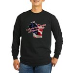 WI Familes & Workers Rights D Long Sleeve Dark T-S