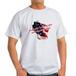 WI Familes & Workers Rights D Light T-Shirt