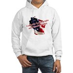 WI Familes & Workers Rights D Hooded Sweatshirt