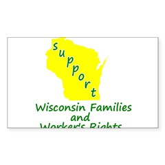 Support Green/Yellow Decal