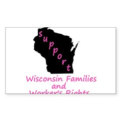Support - Pink Decal