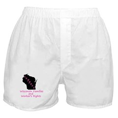 Support - Pink Boxer Shorts