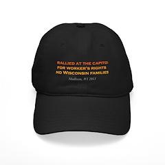 Rallied Orange Black Cap