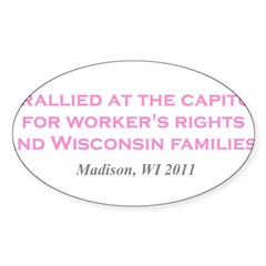 Rallied Pink Decal