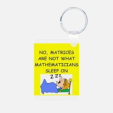 funny math joke Keychains