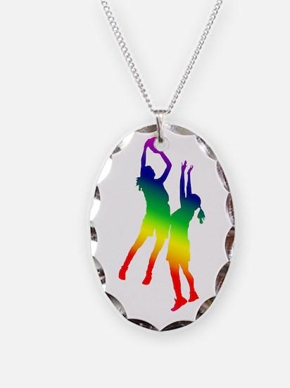 Women's Basketball Necklace