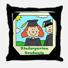 Kindergarten Graduation Throw Pillow
