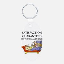 funny therapist Keychains