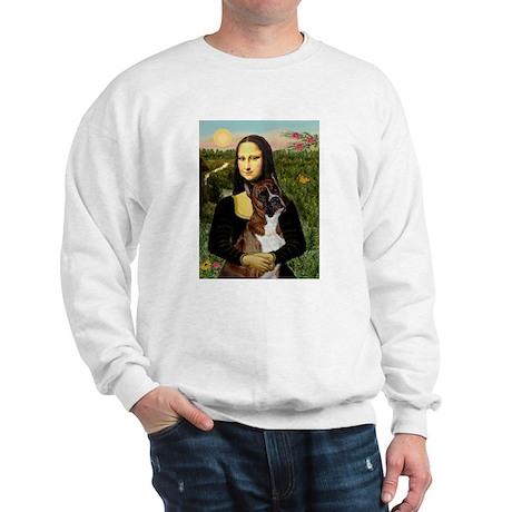 Mona & her Brindle Boxer Sweatshirt