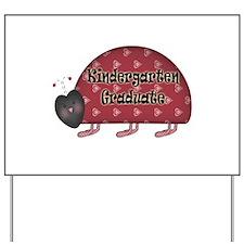 Kindergarten Graduation Yard Sign