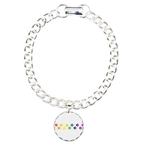 Paws All Over You Charm Bracelet, One Charm