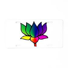 Lotus 1 Aluminum License Plate