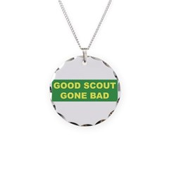 Good Scout Gone Bad (Green) Necklace