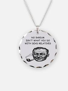 chemistry physics joke Necklace