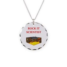 i love geology Necklace