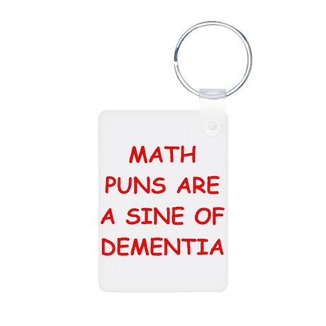 funny math joke Aluminum Photo Keychain