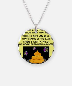 PHD GIFTS HUMOR PRESENTS Necklace