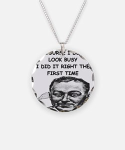 scientist humor on gifts and Necklace
