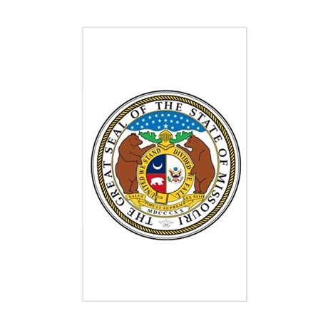 Coat of Arms Sticker (Rectangle)