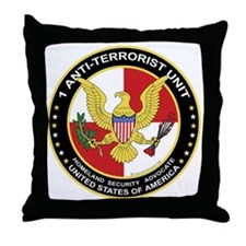 Anti-Terrorist Unit Throw Pillow