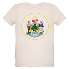 Coat of Arms (Front) Organic Kids T-Shirt