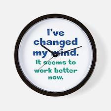 A Better Mind Wall Clock