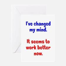 A Better Mind Greeting Card