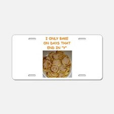 baking gifts t-shirts Aluminum License Plate