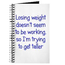 Weight Loss Secrets Journal