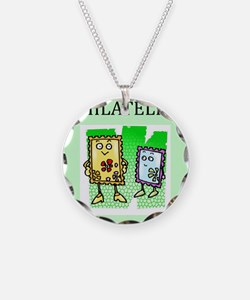 philatelist gifts t-shirts Necklace