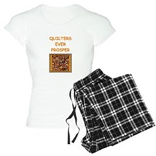 quilting joke for quilters Pajamas