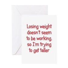 Weight Loss Secrets Greeting Card